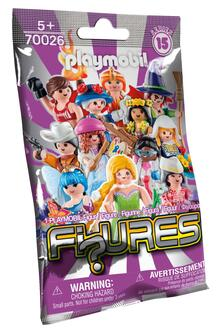 Playmobil. Figures Girls. Serie 15