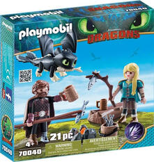 Playmobil. Hiccup E Astrid