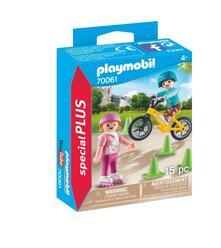 Playmobil. Bambini con Pattini e Bmx