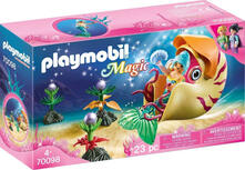 Playmobil 70098 - Magic - Sirena Con Carrozza Nautilus