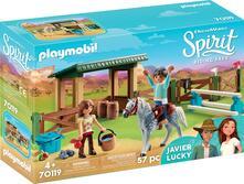 Playmobil (70119). Spirit Ii. Recinto Con Lucky E Javier