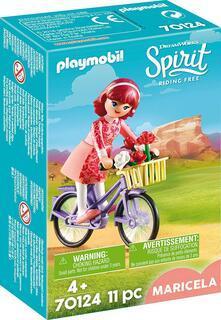 Playmobil (70124). Spirit Ii. Maricela Con Bicicletta