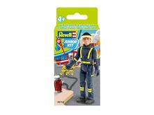 Modellino 1/20 Junior Kit Fire Fighter Revell
