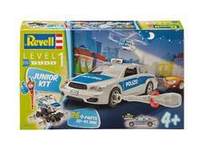 Modellino Junior Kit Police Car Revell