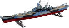 Revell USS Missouri 1944-1945 1:535 Nave della marina Kit di montaggio