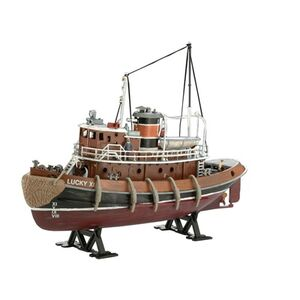 Giocattolo Nave Harbour Tug Boat (RV05207) Revell 1