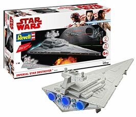 Giocattolo Star Wars Build & Play Model Kit with Sound & Light Up 1/4000 Imperial Star Destroyer Revell