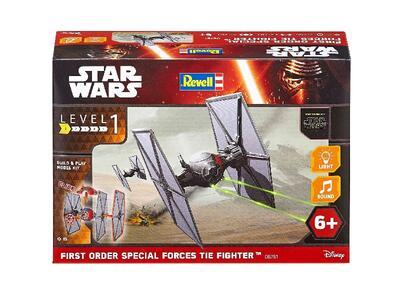 Modellino 1/51 Build & Play Poe'S Tie Fighter Revell - 2
