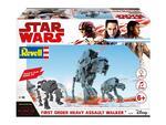 Modellino Build & Play First Order Heavy Assault Walker (Star W. The Last Jedi) Revell