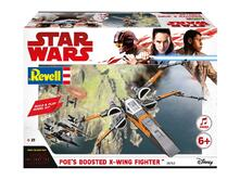 Modellino Build & Play Poe´S Boosted X-Wing Fighter (Star W. The Last Jedi) Revell