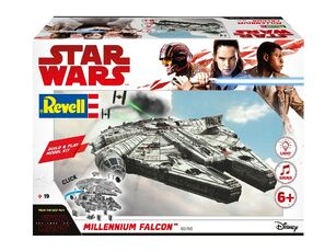 Giocattolo Modellino Build & Play Millenium Falcon (Star Wars The Last Jedi) Revell Revell