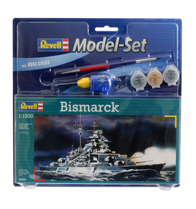 Giocattolo Nave Model Set Bismarck (RV65802) Revell 0