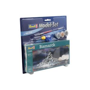 Giocattolo Nave Model Set Bismarck (RV65802) Revell 1