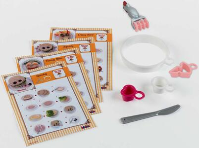Accessorio Complementare Per Cucina. Set Ricette E Stampi - Theo ...