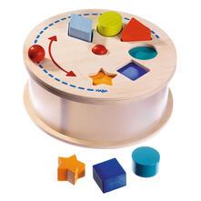 Haba 301697 Sorteerdoos Regenbogenkarussell Kleinkindspielzeug