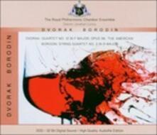 Quartetto n.2 in Re / Quartetto n.12 in Fa - CD Audio di Antonin Dvorak,Alexander Porfirevic Borodin