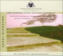 Overtures e intermezzi - CD Audio di Pietro Mascagni,Giacomo Puccini,Giuseppe Verdi,Umberto Giordano,Ruggero Leoncavallo,Royal Philharmonic Orchestra
