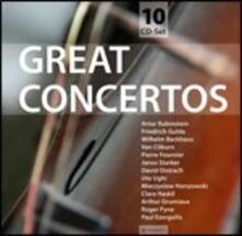 Great Concertos - CD Audio