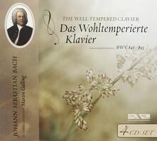 Das Wohltemperierte Klavier (Box Set) - CD Audio di Johann Sebastian Bach