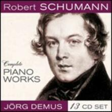 Complete Piano Works - CD Audio di Robert Schumann,Jörg Demus