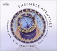 Musica da camera - Opere vocali - CD Audio di Erwin Schulhoff,Gideon Klein,Pavel Haas,Hans Krasa,Ensemble Aventure