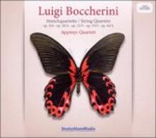 Quartetti - CD Audio di Luigi Boccherini