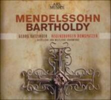 Musica corale sacra - CD Audio di Felix Mendelssohn-Bartholdy,Regensburger Domspatzen
