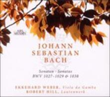 Sonate BWV1027, BWV1029, BWV1038 per viola da gamba e lautenwerk - CD Audio di Johann Sebastian Bach
