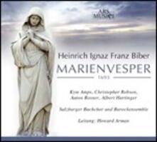 Marienvesper - CD Audio di Heinrich Ignaz Franz Von Biber