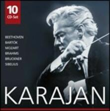 Karajan - CD Audio di Ludwig van Beethoven,Johannes Brahms,Anton Bruckner,Wolfgang Amadeus Mozart,Jean Sibelius,Bela Bartok,Herbert Von Karajan