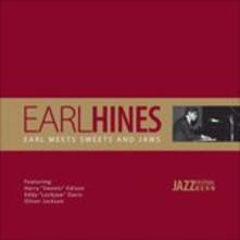 Earl Meets Sweets and Jaws - Vinile LP di Eddie Lockjaw Davis,Earl Hines,Harry Sweets Edison