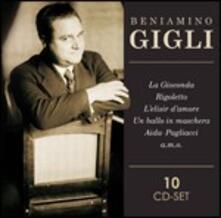 Opera, canzoni, musiche da film - CD Audio di Beniamino Gigli