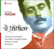 Il Trittico - CD Audio di Giacomo Puccini,Tito Gobbi,Victoria De Los Angeles