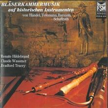 Blaserkammermusik Ouf Historischen Instrumenten - CD Audio di Georg Friedrich Händel