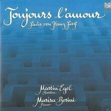 Lieder toujours l'amour - CD Audio di Franz Liszt