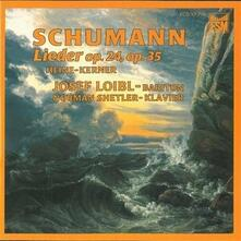 Liederkreis Op.24 - CD Audio di Robert Schumann