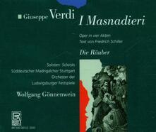 I Masnadieri - CD Audio di Giuseppe Verdi