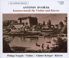 Chamber Music For Violin - CD Audio di Antonin Dvorak