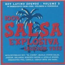 100% Salsa Explosiva 3 - CD Audio