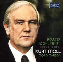 Lieder per Basso - CD Audio di Franz Schubert