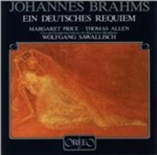 Ein Deutsches Requiem - CD Audio di Johannes Brahms