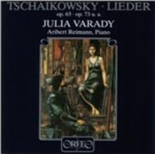 Lieder - CD Audio di Pyotr Ilyich Tchaikovsky