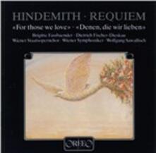 Requiem. Denen die Wir Lie - CD Audio di Paul Hindemith