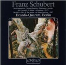 Quartetti per Archi N.9, N.10 - CD Audio di Franz Schubert