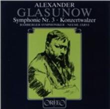 Sinfonia n.3 - CD Audio di Alexander Kostantinovich Glazunov