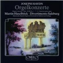 Organ Concerto - CD Audio di Franz Joseph Haydn