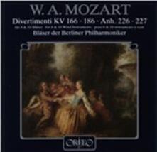 Divertimenti fur 8 & 10 B - CD Audio di Wolfgang Amadeus Mozart