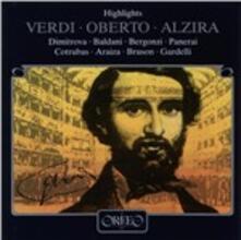 Oberto - Alzira - Hl - - CD Audio di Giuseppe Verdi