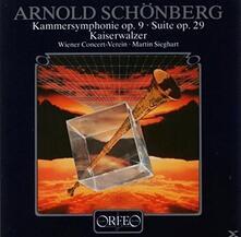 Chamber Symphony op.9 - Vinile LP di Arnold Schönberg