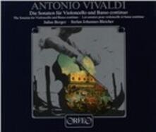 Sonate per violoncello - CD Audio di Antonio Vivaldi